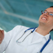 Royalty-Free Stock Photo: Doctor handshaking
