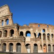 The Coliseum in Rome - Stock Photo