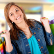Shopping girl — Stock Photo #7763917