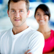 Couple at the gym — Stock Photo #7763935
