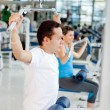 Man at the gym — Stock Photo #7764077