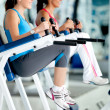 Women at the gym — Stock Photo #7764083