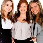 Beautiful business women — Stock Photo