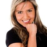 Female portrait smiling — Stock Photo