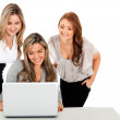 Stock Photo: Group of business women