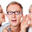 Telling a secret — Stock Photo #7764416