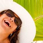 Happy summery woman — Stock Photo #7764465
