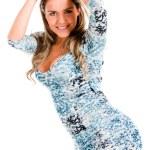 Casual woman posing — Stock Photo