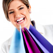 Happy shopping woman — Stock Photo #7764564