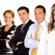 Business woman leading a group — Stock Photo #7764576