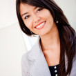 Latin woman smiling — Stock Photo #7764618