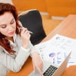 Woman at the office — Stock Photo #7764627