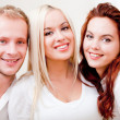 Caucasian group of — Stock Photo
