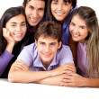 Group of close friends — Stock Photo