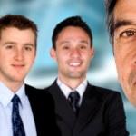 equipo de negocios en una oficina — Foto de Stock   #7764729
