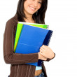 Female university student — Stock Photo #7764745