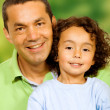 Father and son portrait — Stock Photo #7764752
