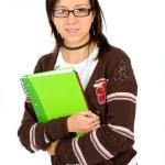 Casual university student — Stock Photo