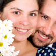 Beautiful couple portrait — Stock Photo
