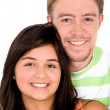 Young couple smiling — Stock Photo #7764856