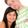 Young couple smiling — Stock Photo #7764857