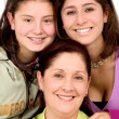 Beautiful Family Portrait — Stock Photo