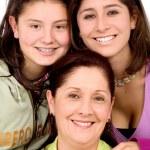 Beautiful Family Portrait — Stock Photo #7764889