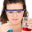 Female scientist - Stock Photo