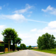 Road in a beautiful landscape — Stock Photo