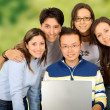 Casual group of students — Stock Photo #7765031