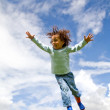 Boy in the air — Stock Photo #7765055