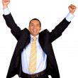 Business man success - Stock Photo