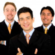 Royalty-Free Stock Photo: Men only business team