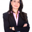 Business woman portrait — Stock Photo