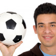 Friendly soccer player — Stock Photo #7765351
