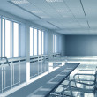 Foto Stock: Office interior space