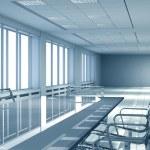 spazio interno ufficio — Foto Stock