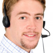 Customer service man — Stock Photo