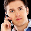 Royalty-Free Stock Photo: Casual man on the phone