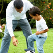 Father and son having fun — Stock Photo #7765598