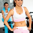Woman at the gym — Stock Photo #7765601
