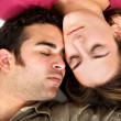 Couple sleeping — Stock Photo #7765770