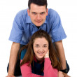 Couple smiling — Stock Photo #7765805