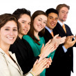 Business clapping — Stock Photo