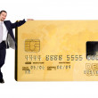 Royalty-Free Stock Photo: Business credit card