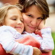 Mother and daughter portrait — Stock Photo #7766092