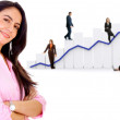 Business growth and success - Foto Stock