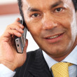 Business man on the phone — Stock Photo