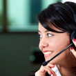 Customer service woman — Stock Photo #7766320