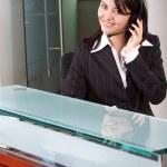 Customer service woman — Stock Photo #7766325